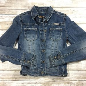 Hydraulic Jean jacket women's small